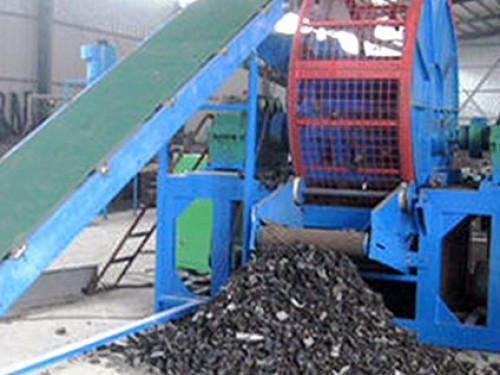 Tire Recycling To Powder